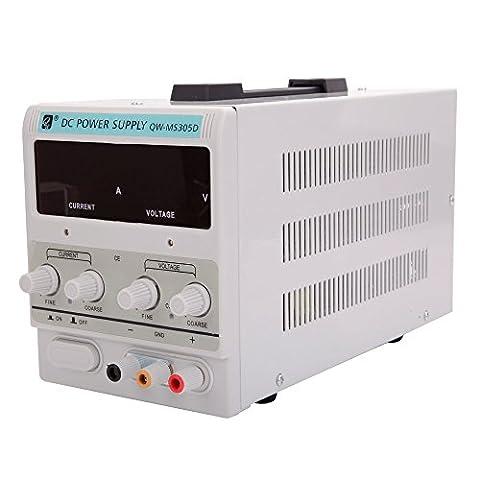 5A 30V 110V DC Power Supply|Adjustable Variable Precision Dual Digital|Lab Grade US Ship (Emerson Breakout)