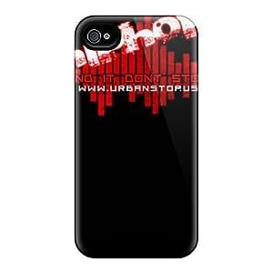 Slim New Design Hard Case For Iphone 4/4s Case Cover - VdmUKXU3906nbkzn