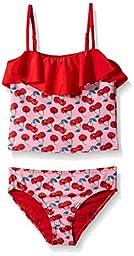 Jantzen Little Girls\' Cherries Tankini, Multi, 6