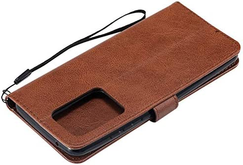 Docrax Galaxy S20 Ultra ケース 手帳型 スタンド機能 財布型 カードポケット マグネット ギャラクシーS20Ultra 手帳型ケース レザーケース カバー - DOKTU100515 ローズゴールド