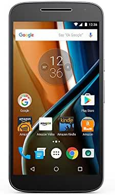 Moto G (4th Generation) - Black - 32 GB - Unlocked - Prime Exclusive - with Lockscreen Offers & Ads