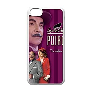 VNCASE Agatha Christie's Poirot Phone Case For Iphone 5C [Pattern-1]