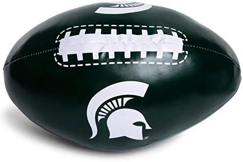 Collegiate Toss Around Michigan State Spartans Green /& White Jumbo Softee Football