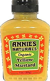 product image for Annie'S Naturals Organic Yellow Mustard ( 9 OZ) (Pack of 36)