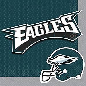 Philadelphia Eagles Football 36ct 2ply Lunch Napkins