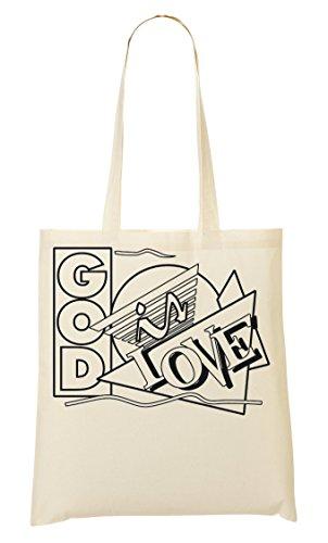 God Is Handbag Shopping Bag