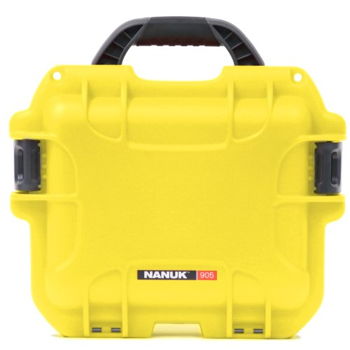 Nanuk 905 Waterproof Hard Case with Padded Dividers - Yellow
