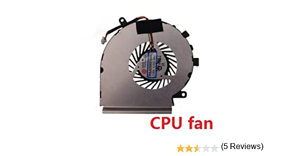 wangpeng Generic New Cooling Cooler Fan for MSI GE60 MS-16GA MS-16GC CPU-VGA E33-0800401-MC2 PAAD06015SL