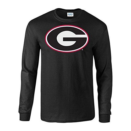 Georgia Bulldogs Long Sleeve Tshirt Black