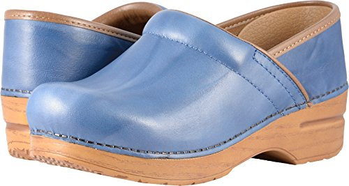 Dansko Women's Professional Clog, Blue Scrunch, 39 M EU (8.5-9 US) by Dansko (Image #3)