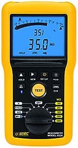 Insulation Tester, Analogue / Digital Megohmmeter, 10V, 25V ...