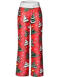 Women's Pajama Pants Comfy Stretch Floral Print...