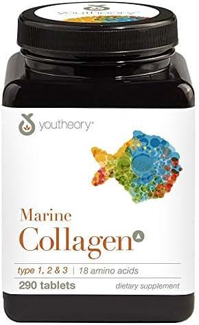 Amino Acid Marine Collagen Advanced Formula Type 1 & 3 290 Tabs