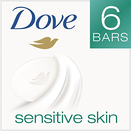 Price comparison product image Dove Beauty Bar, Sensitive Skin 4 oz, 6 bar