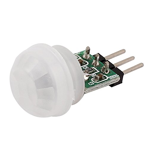 Uxcell a15032000ux0258 Mini Pyroelectric PIR Sensor Module Manual Motion Infrared IR Detector