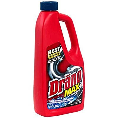 Drano 00117-2PK Max Clog Remover (Pack of 2), 32 oz