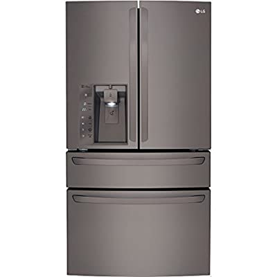 LG Black Diamond Series Counter-Depth French Door 36-Inch Refrigerator (LMXC23746D)