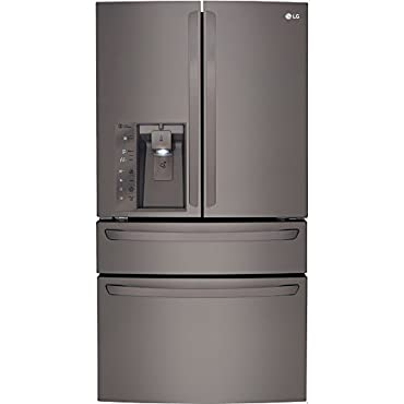 "LG LMXC23746D Black Diamond Series Counter-Depth French Door 36"" Refrigerator"