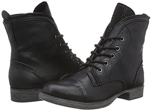 Damen Ant Combat 096 comb Schwarz Boots 25103 MARCO TOZZI Black 0aq1E
