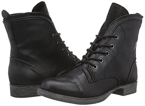 25103 MARCO Damen comb Boots TOZZI 096 Black Ant Combat Schwarz q77FRB5w