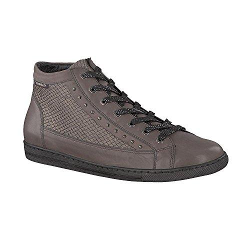 Grijs, Damen Sneaker Donkergrijs