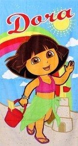 Dora the Explorer Summer Beach - Explorer Towels The Dora