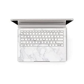 amazon com dekalesk surface book decal keyboard sticker marble