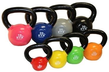 Troy Barbell & Fitness VTX Vinyl Kettlebell Set by Troy Barbell and Fitness