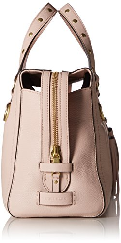Cole Cassidy Zip Peach Haan Women's Blush Satchel Leather Bag rqarHWnw