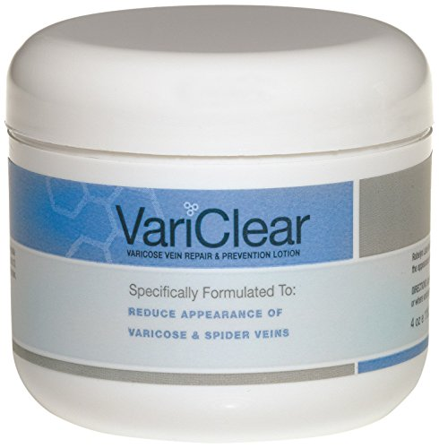 Rutin Varicose Veins (VariClear Varicose and Spider Vein Extra Strength Lotion, 4 Ounce)
