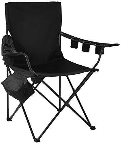 (On The Edge 810169 Folding Kingpin Chair (Black))