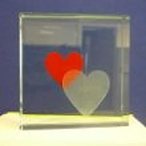 Mensaje bloque - Corazón doble