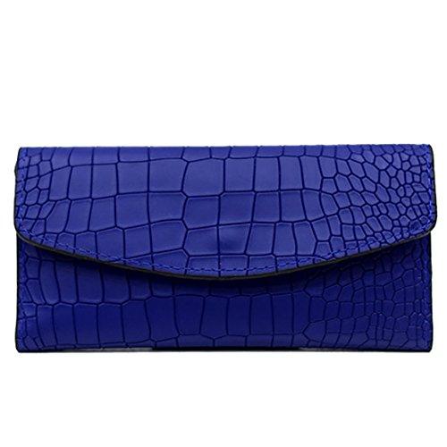 HT Ladies Evening Handbags - Cartera de mano para mujer café