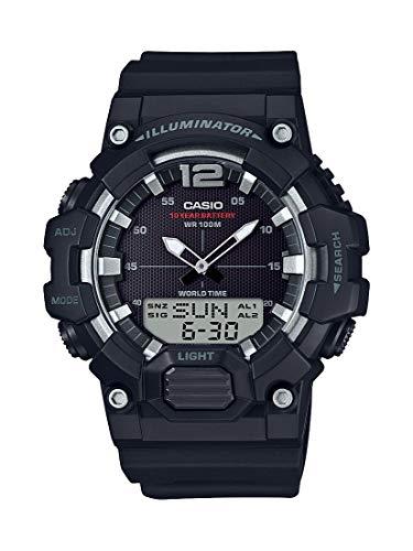 Casio Men's Classic Quartz Watch with Resin Strap, Black, 27.78 (Model: HDC-700-1AVCF) ()