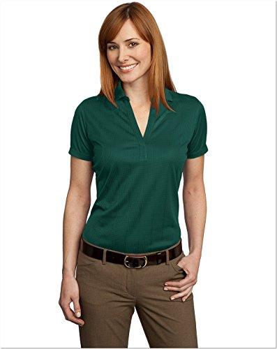 port-authority-ladies-performance-fine-jacquard-sport-shirt-l-green-glen