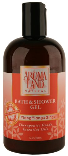 Ylang Ylang & Ginger - Bath & Shower Gel 12 oz.