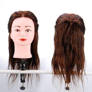 Tete a coiffer cheveux long naturel coiffure femme 100% naturels ...