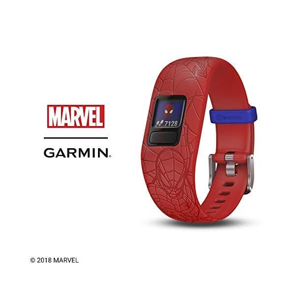 Orologio SpiderMan Marvel - Garmin Vivofit JR 2 Activity Tracker per Bambini con Cinturino Regolabile - 6 anni