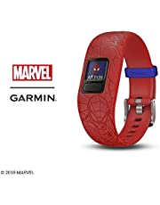 Garmin 010-01909-36 vivofit jr. 2, Spider-Man, Red