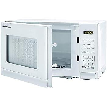 Amazon.com: Sharp 0.7-cu ft 700-Watt Countertop Microwave