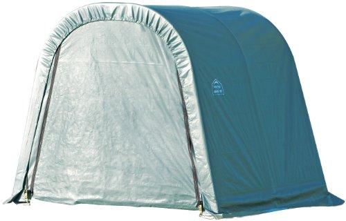 Storage Green Shelter - ShelterLogic 77824 Green 10'x16'x8' Round Style Shelter