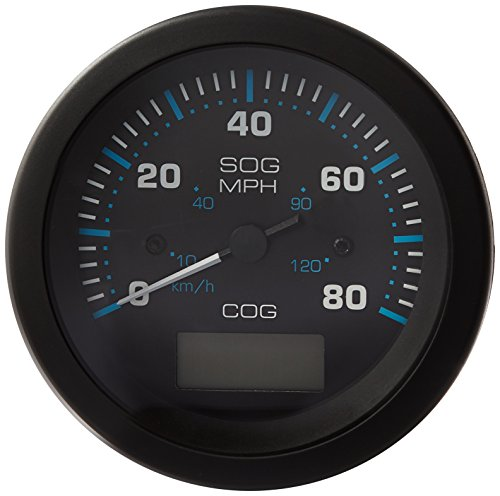 Sierra International 781-684-080P Scratch Resistant Eclipse Gauge 80 MPH GPS Speedometer, 3