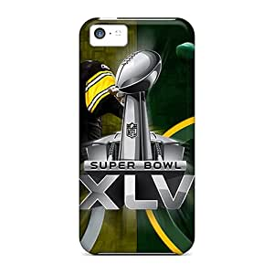 Tpu Case Cover Compatible For Iphone 5c/ Hot Case/ Green Bay Packers