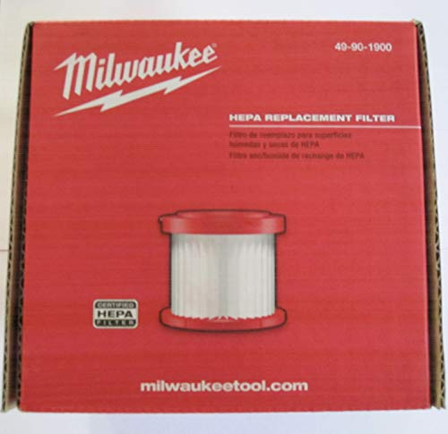 Milwaukee 49-90-1900 HEPA Filter for Wet...