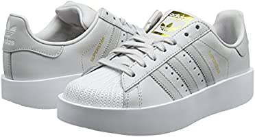 Adidas Women's Superstar Bold W Fitness Shoes, Grey (Griuno