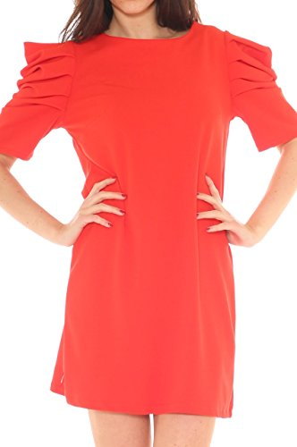 Key-Di - Vestido - para mujer Rojo