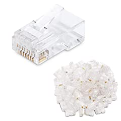 CONNECT MORE with Cable Matters Cat 6 Networking ProductsDIY or PRO Patch Cable The Cable Matters Cat 6 RJ45 Modular Plugs provide a simple and precise way to terminate UTP stranded cable. Create custom length patch cables in the perfect leng...
