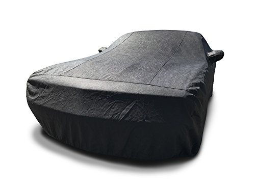 CarsCover Custom Fit 2013-2019 Dodge Challenger Car Cover 5 Layer Ultrashield Black Covers (R/T, SRT, T/A, SXT, HELLCAT)