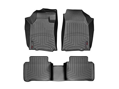 Nissan Maxima Floor Liner - Weathertech Nissan Maxima 2016-2018 Black Floor Liners - Full Set