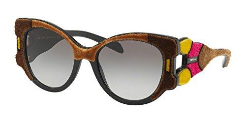 Sunglasses Prada PR 10 US SRJ0A7 - Sunglasses Prada Yellow
